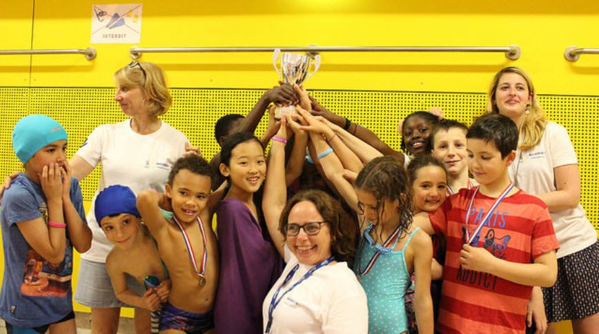 Neptune club de france votre club de natation sportive for Piscine armand massard aquagym
